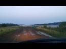 2018г.08м.03д._20ч-59м. Вечерний туман на усти Ванаварки и Подкаменной Тунгуски.