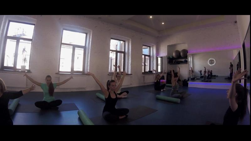 Открытый урок по пилатес   MarryMe   Видеосъёмка с любовью  Санкт-Петербург