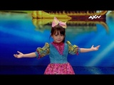 Kid Dancer Zeexhie Makes the Audience Melt With Every Word She Says! AXN Asias Got Talent 2019