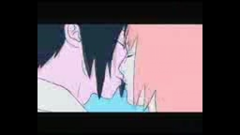 Саске и сакура пара из аниме мультика наруто!