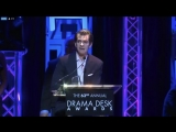 Andrew Garfield wins Best Actor in a Play for Angels in America at the 2018 Drama Desk Awards