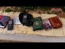 Последствия неудачной попытки проникновения неизвестной группы боевиков возле удерживаемого США района Танф.