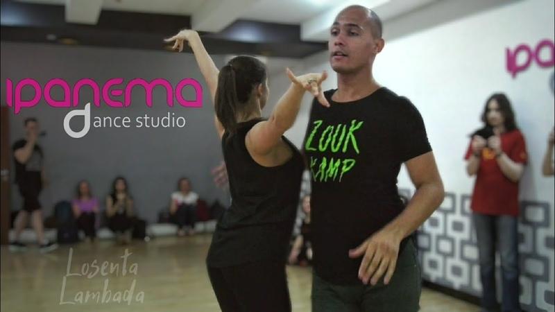 João Paulo Jota and Che. Zouk demo. Ipanema Dance Studio. (Reprieve)