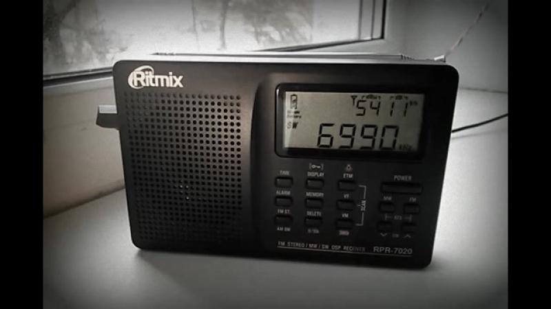 Радио Коминтерн 6990 кГц, 08.02.2016, 16_35 MSK