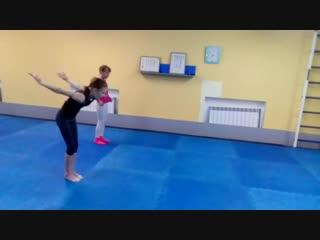 Спортивная акробатика- тренер Булатова Е.С.