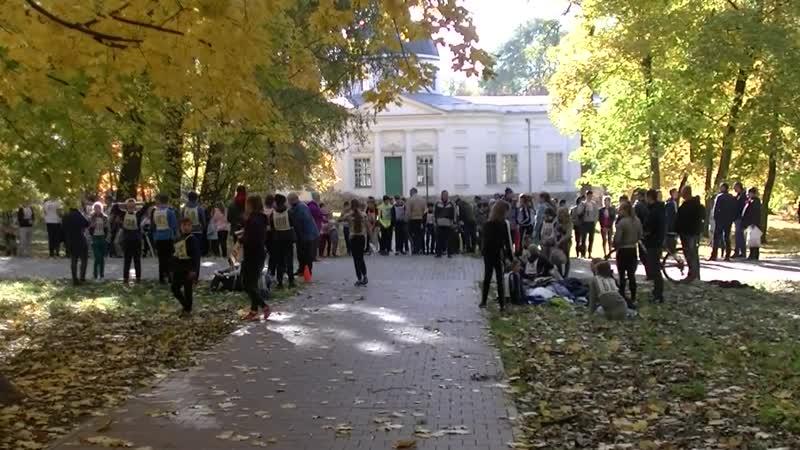 Осенний легкоатлетический забег среди школьников Богородицкого района