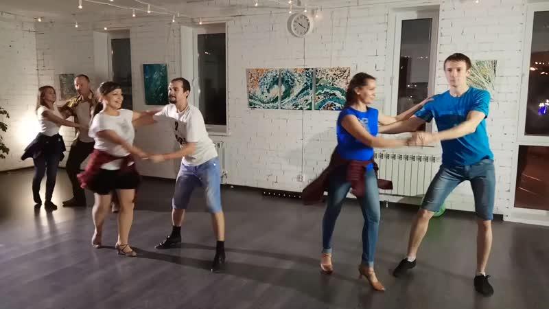 Выступление Just Dance (Тольятти) _ Хастл на вечеринке Стимула