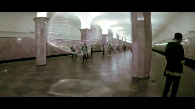 Станция метро Кропоткинская 12-09-2017