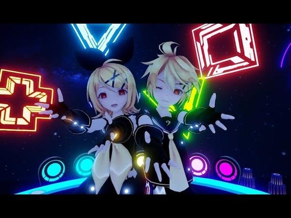 ▌VOCALOID ▌Electric Angel DL (MMD)【Rin・Len】