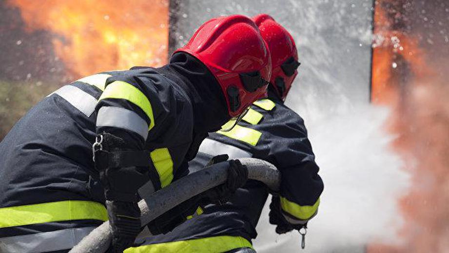 В Симферополе горела пятиэтажка