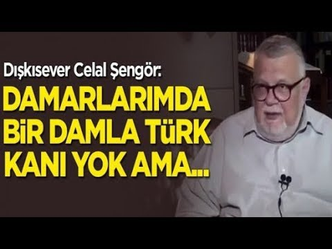 Celal Şengör Damarlarımda bir damla Türk kanı yok ama...