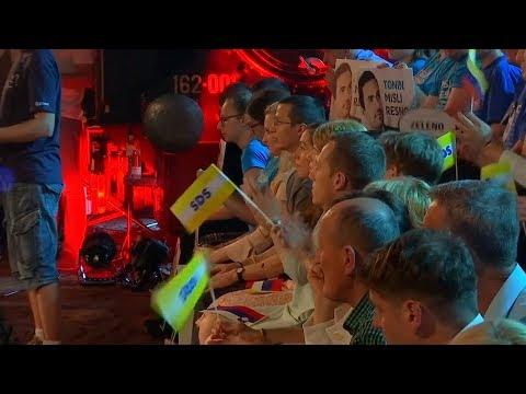 Vor Wahlen: Anti-Immigranten-Partei Sloveniens in Meinungsumfragen vorne