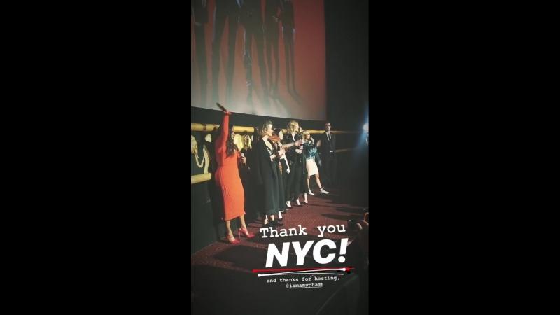 Скрининг фильма «Восемь подруг Оушена» в Нью-Йорке | 22.05.18