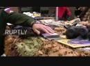 Путин осмотрел захваченное у боевиков в Сирии оружие и технику