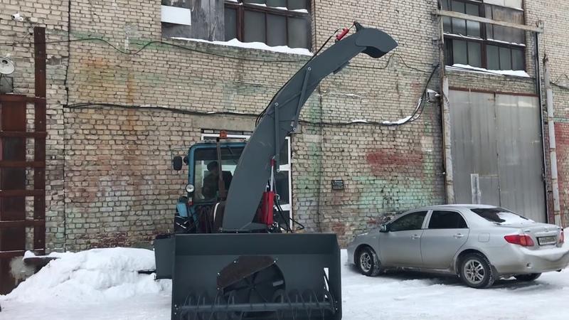 Погрузочный желоб для снегопогрузчиков на МТЗ
