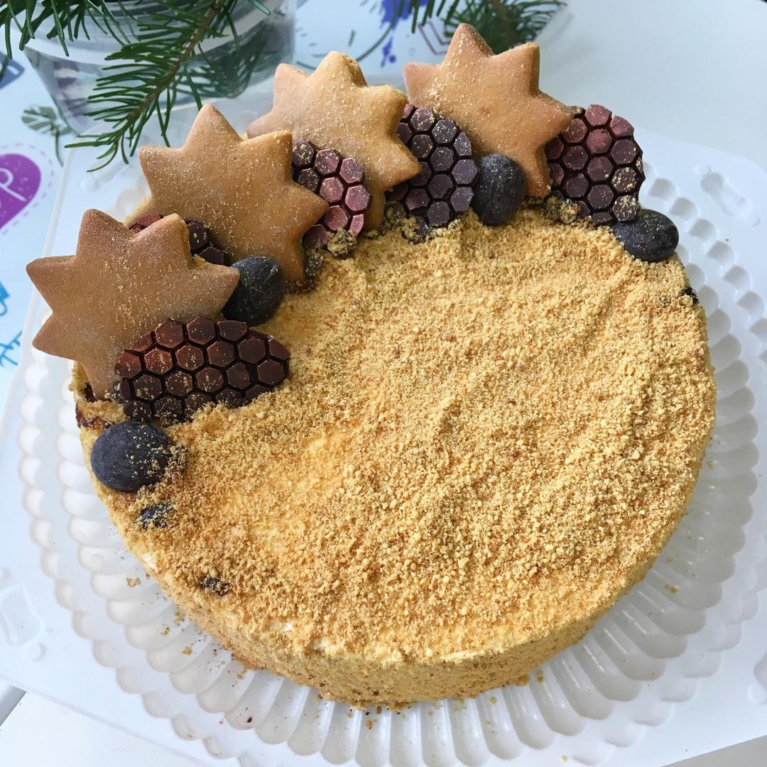 Новогодний торт (Арт.343)