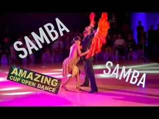 Amazing Cup 2018   Stefano Di Filippo & Dasha Chesnokova   WDC   Taipei   Samba