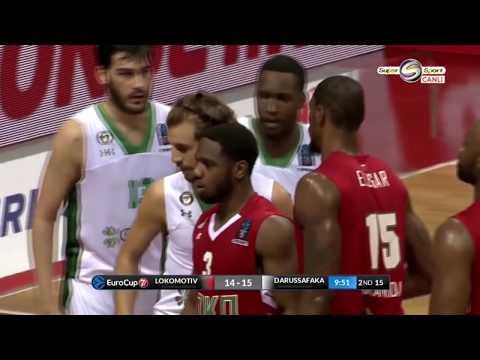 Lokomotiv Kuban 78-81 DarüşşafakaEuroCup 1.Final maçi HD1080p-Tam maç(Kesintisiz)10.04.2018