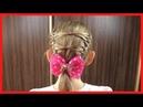 КРАСИВАЯ И ПРОСТАЯ Прическа на Kаждый день для девочек BEAUTIFUL AND SIMPLE Hairdress
