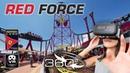 Red Force 2018 roller coaster | Ferrari Land Port Aventura