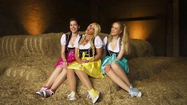 Три немки своей весёлой песенкой докажут вам, что немецкий язык не такой уж и грубый · coub, коуб
