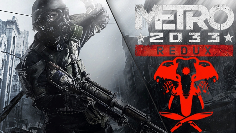 Metro 2033 Redux Tomb Raider: Артём Прохождение игры Часть 2.
