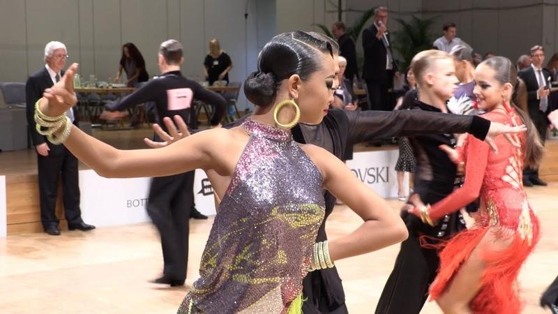 Yaroslav Kiselev - Sofia Philipchuk RUS, Samba | GOC Junior II Latin