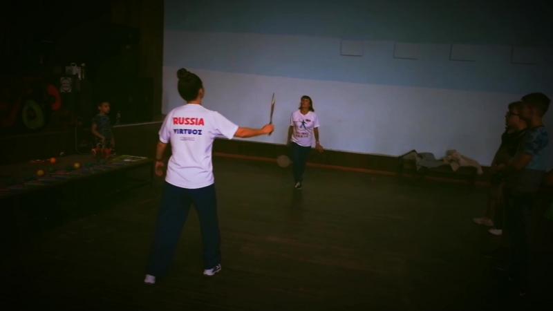 Ролибол детям. Мастер классы в Лагере