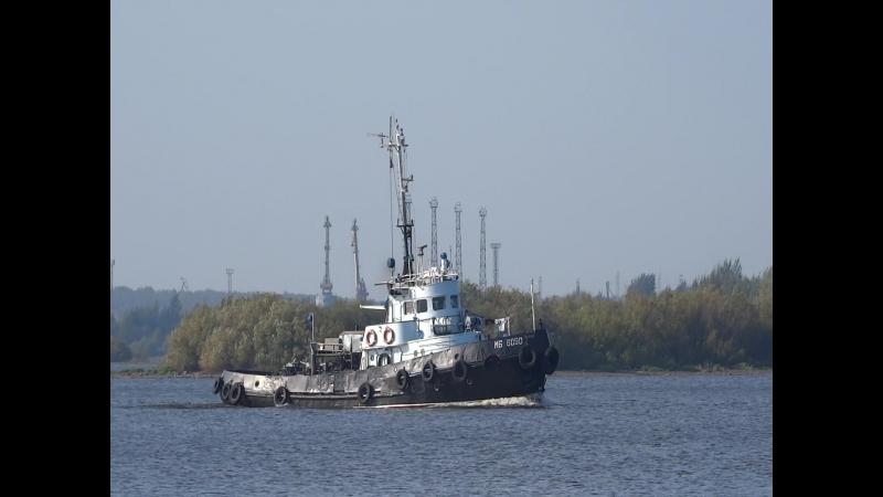 Линейный морской буксир МБ 6090 Тип МБ шифр Карадаг проект 1496