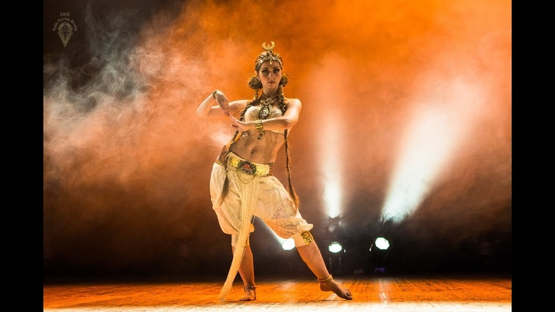 Aegyptia Alchimia - Valeria Chudaeva @ Tribal Festival in Belarus 2018
