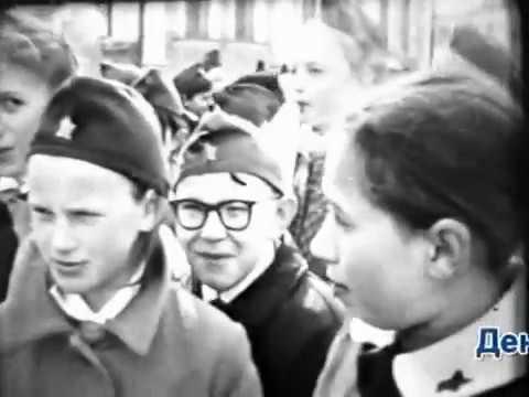 1 мая 1971 г. День Пионерии. Школа №1. Ухта.