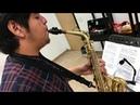 BAGHIRA - Arturo Feria (Sax) y Martin Osvaldo (Piano) Sonatina para Saxofon y Piano de Ferrer Ferran