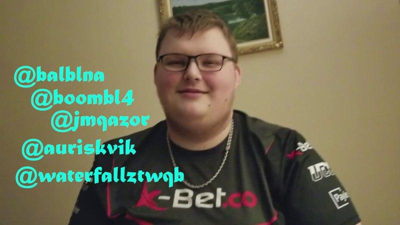 Balblna VLOG 1: WCA 2017. Почему Вы такие аутисты криворукие? Вопросы от подписчиков.