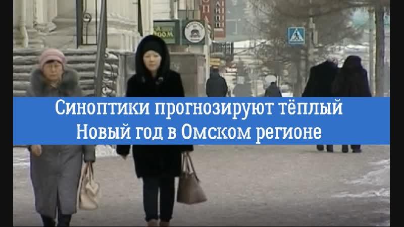 Синоптики прогнозируют тёплый Новый год в Омском регионе