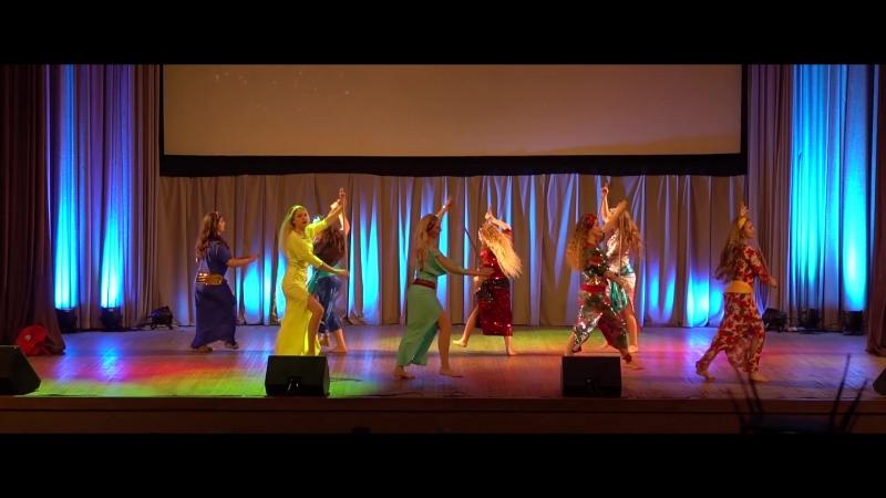 MAXDANCE | Концертный состав по Belly Dance - Саиди | SPRING CONCERT 2018