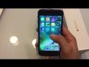 Копия iPhone 7 black mate. Тайвань.