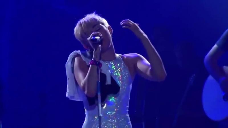 Miley Cyrus - Babe Im Gonna Leave Your (Bangerz Tour 2014)