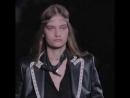ALINA Bolotina for Saint Laurent. Paris Fashion Week ss19. auroramodelmanagement auroramodels auroragirl AlinaBolotina Sain