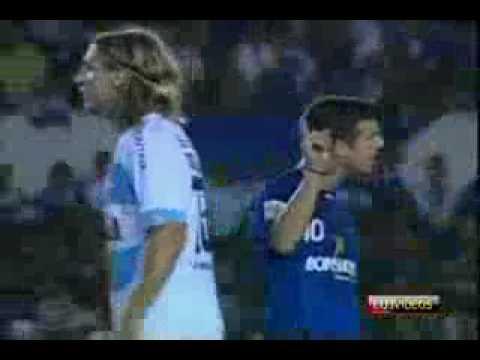 Cruzeiro x Gremio Racismo Maxi Lopez chama Elicarlos de Macaco Copa Libertadores 24 06 2009