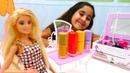 Barbie ve Steffi makyaj yapma ve giyim oyunu