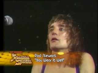 Rod Stewart - You Wear It Well. The Midnight Special 1975