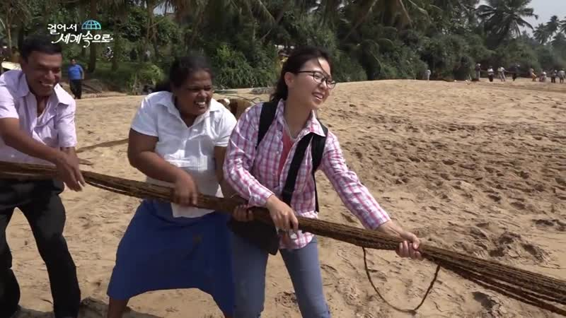 【K】Sri_Lanka_Travel-Weligama_스리랑카_여행-웰리가마_전통_고기잡이_마댈_Madal_Traditional_