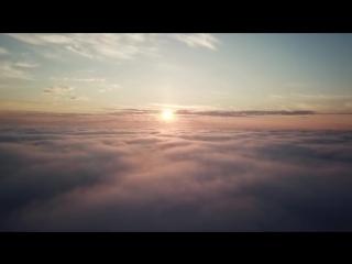 Ночной Мурманск под одеялом