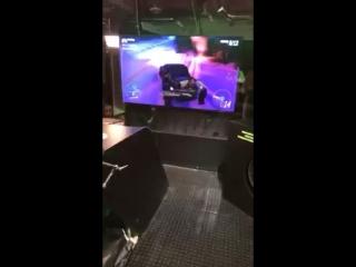 Megan Fox Playing Forza Horizon 4