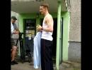 Игорёк разговаривает по бананофону
