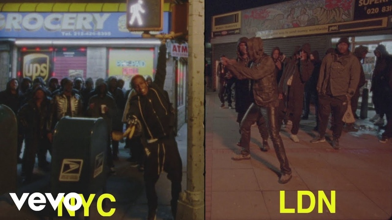 A$AP Rocky Praise The Lord Da Shine Official Video ft Skepta
