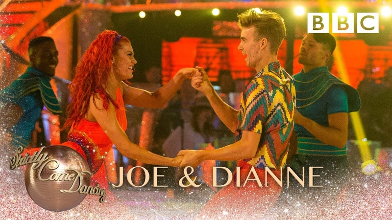 Joe Dianne Salsa to Josephy Megamix from 'Joseph The Amazing Technicolor Dreamcoat' - Strictly