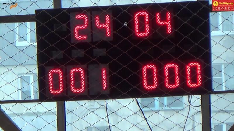 ФК «Зеніт-Юрія Фарм» – «Crispus» – 1:3 (0:2)