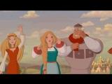 Кадры из мультика Три Богатыря на дальних Берегах