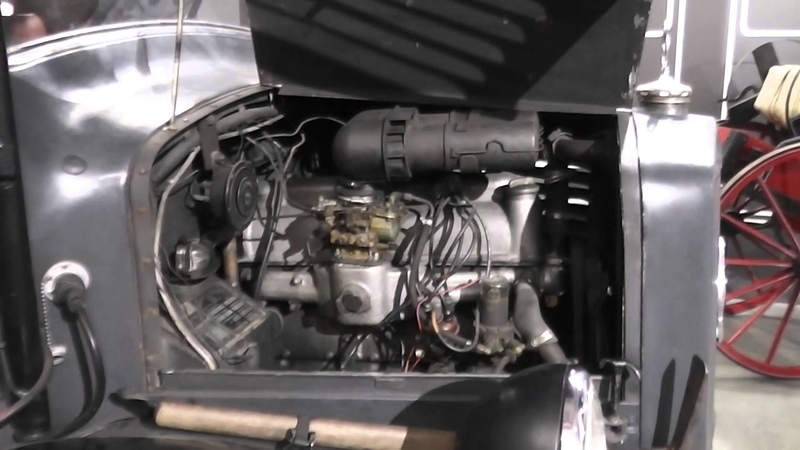 Mercedes-Benz L 1500 S - Engine from 1943
